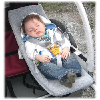 WEBER Babyschale f. Kinder-Anhänger  – sonstige im Zweirad-Blog