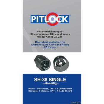 Pitlock Achsensicherung SH38 single  – Pitlock im Zweirad-Blog