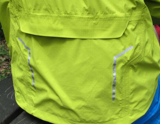 Rückseite des The North Face Muddy Tracks Jacket