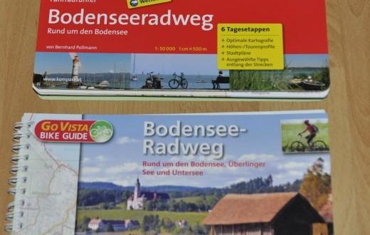 Kompass Fahrradführer vs. Go Vista Bike Guide – Teurer vs. billiger Radführer im Taschenformat