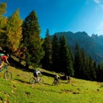 Mountainbiken im malerischen Eggental - Fotocredit: © Manfred Stromberg