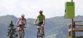Mit dem E-Bike locker auf die Alm