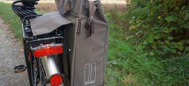 Basil Urban Fold Cross Body Bag – Die lässige Radtasche für Gepäckträger und Schulter im Praxistest